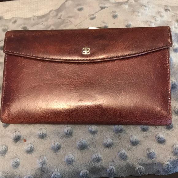 Bosca Handbags - Vintage Bosca Leather Wallet made in Italy